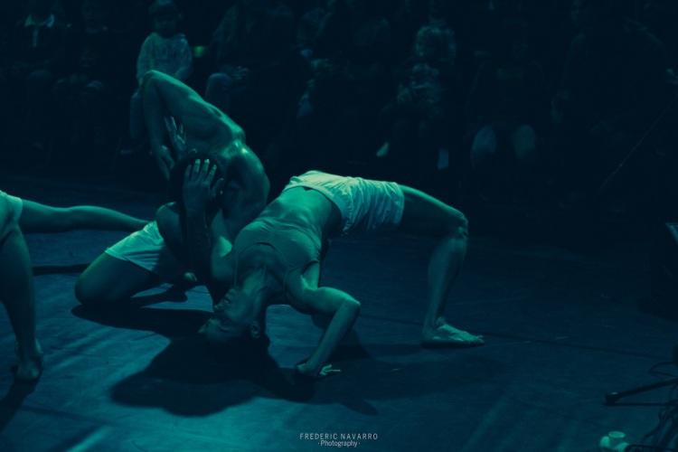 Jhosmar Chitty; Oswaldo González (360 Grados Danza)