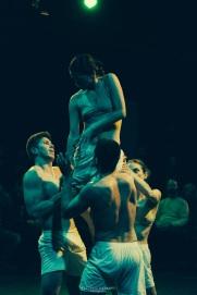 Catherine Stuyt; Alexis Sulbarán; Jhosmar Chitty; Oswaldo González (360 Grados Danza)